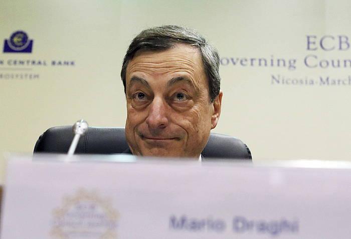 Mario Draghi, atzo./ ©KATIA CHRISTODOULOU, EFE