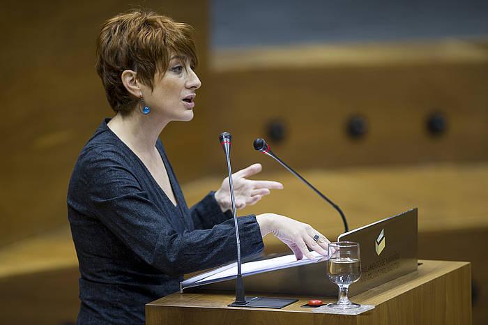 Bakartxo Ruiz EH Bilduko parlamentaria. ©Iñigo Uriz / Argazki Press