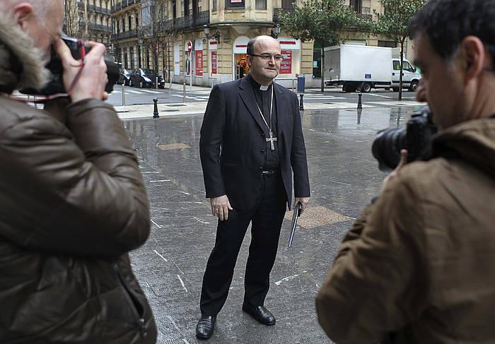 Jose Ignacio Munilla Donostiako apezpikua./ ©Juan Herrero, EFE