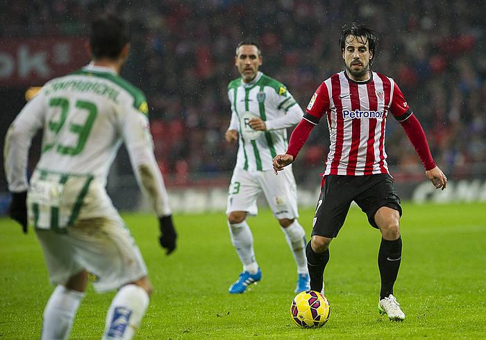 Beñat Etxebarria Athleticeko jokalaria./ ©Luis Jauregialtzo, Argazki Press
