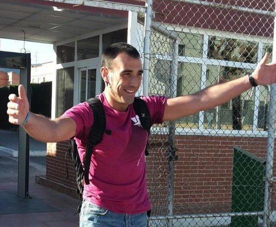 Oier Martinez aske geratu den unea./ ©Etxerat