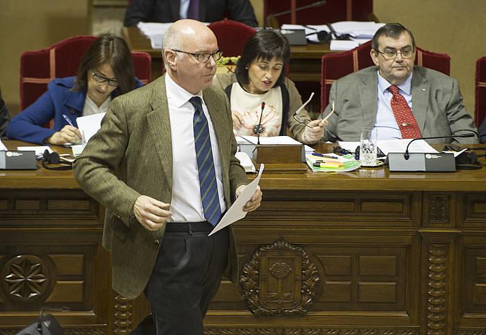 Jose Maria Iruarrizaga Bizkaiko Ogasun eta Finantzen foru diputatua./ ©Monika del Valle, Argazki Press