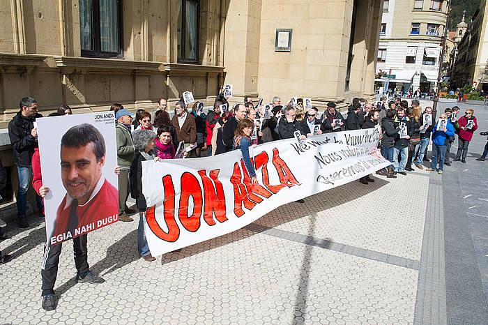 Zortzi orduz izan dira Donostiako Bulebarrean. ©Juan Carlos Ruiz / Argazki Press
