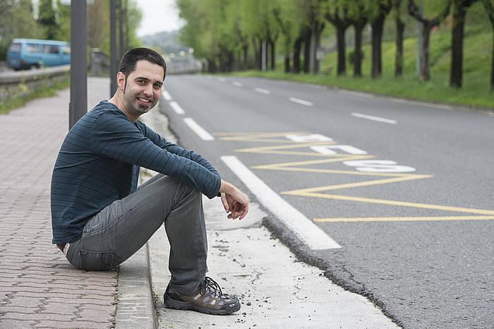 Nestor Esteban./ ©Jon  Urbe, Argazki Press
