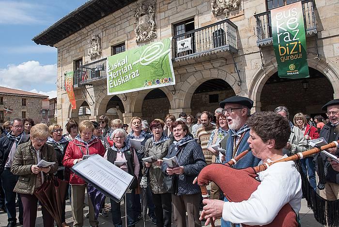 Euskaraz Bizi Eguna, Otxandion./ ©Andoni Canellada, Argazki Press