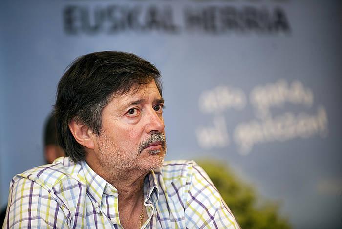 Rafa Diez, artxiboko irudi batean. ©/ Juan Carlos Ruiz, Argazki Press