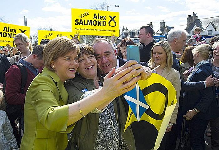 Alex Salmond Eskoziako lehen ministro ohia