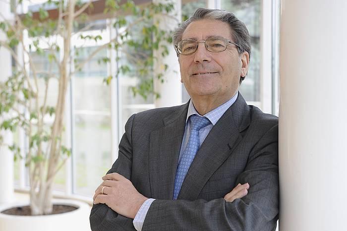 Enrique Castello Konplutentseko Ekonomia katedraduna./ ©Andoni Canellada, Argazki Press