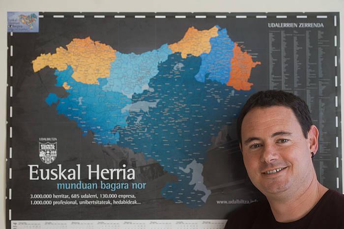 Hasier Arraiz Sortuko presidentea./ ©Juan Carlos Ruiz, Argazki Press