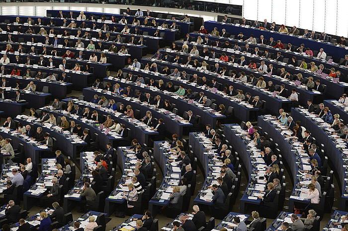 Europako Parlamentuaren osoko bilkura bat. ©Patrick Seeger / EFE