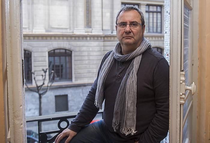 Iñaki Goioaga, artxiboko irudi batean. ©Luis Jauregialtzo / Argazki Press