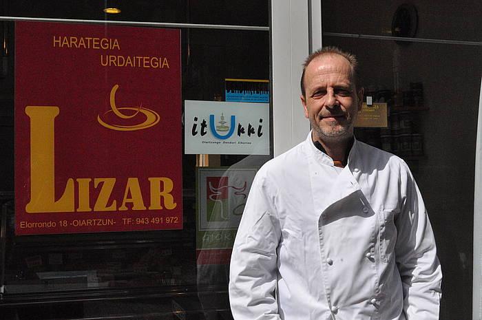Dendartean elkarteko presidenteordea da Bitor Lizarribar. ©/ Ikerne Zarate