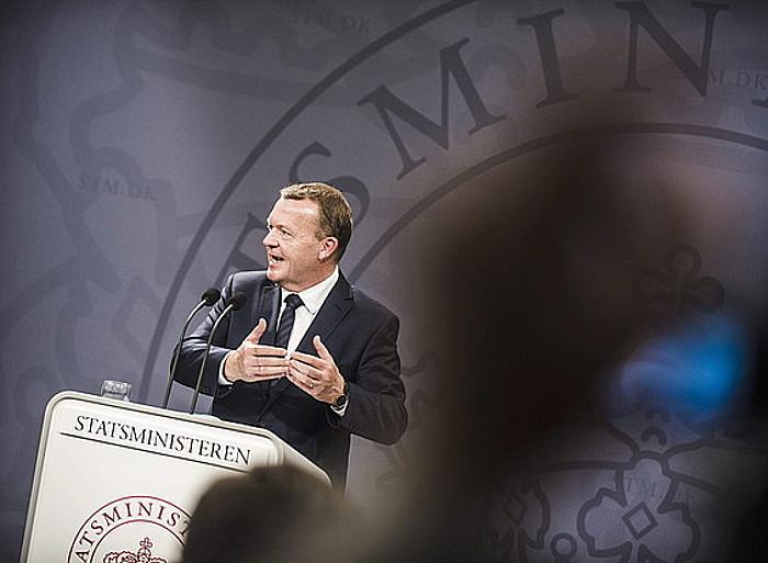 Lars Lokke Rasmussen lehen ministroa, kargua hartu berritan, iragan asteburuan. ©SIMON LAESSOEE / EFE