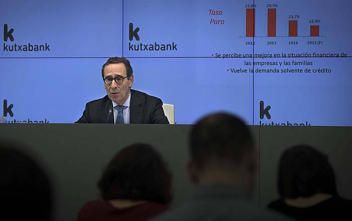 Gregorio Billalabeitia Kutxabankeko presidentea. ©Mguel Toña / EFE