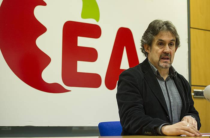 Pello Urizar, artxiboko irudi batean./ ©Monika del Valle, Argazki Press