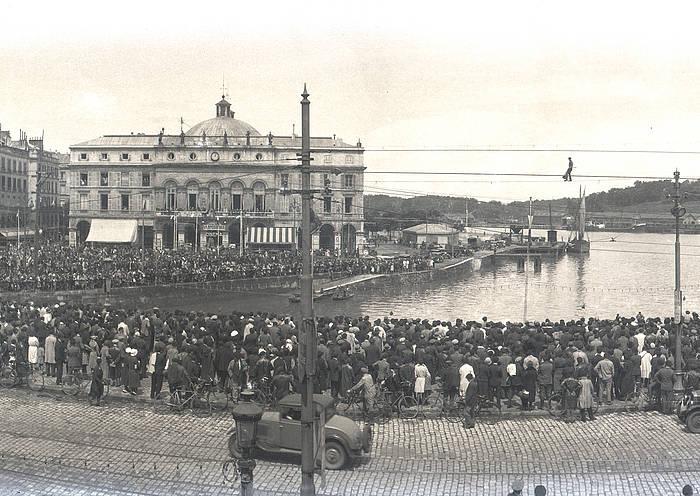 Baionako lehen festak 1932an egin ziren, eta bilakaera izan dute urte hauetan guztietan. ©/ Euskal Museoa