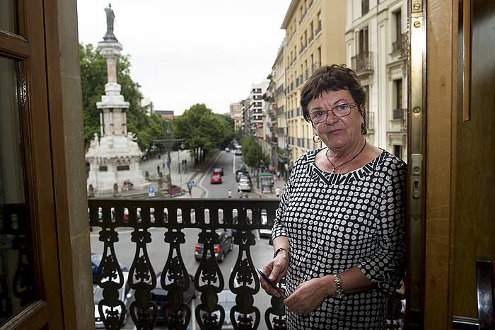 Maria Jose Beaumont, Nafarroako Barne kontseilaria. ©Iñigo Uriz / Argazki Press