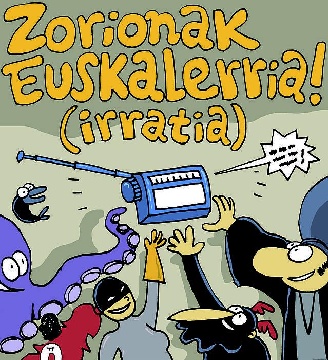 27 urteren ondoren lizentzia eman diote Euskalerria Irratiari. ©Iñigo Uriz / Argazki Press