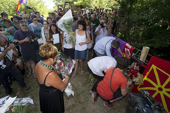 Omenaldia Sagardia Goñi sendiari, Legarrean. ©Iñigo Uriz / Argazki Press