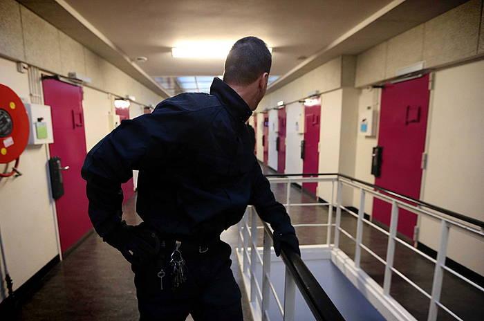 Espetxe funtzionarioak, Norgerhavengo kartzelan. / ©CATRINUS VAN DER VEEN, EFE