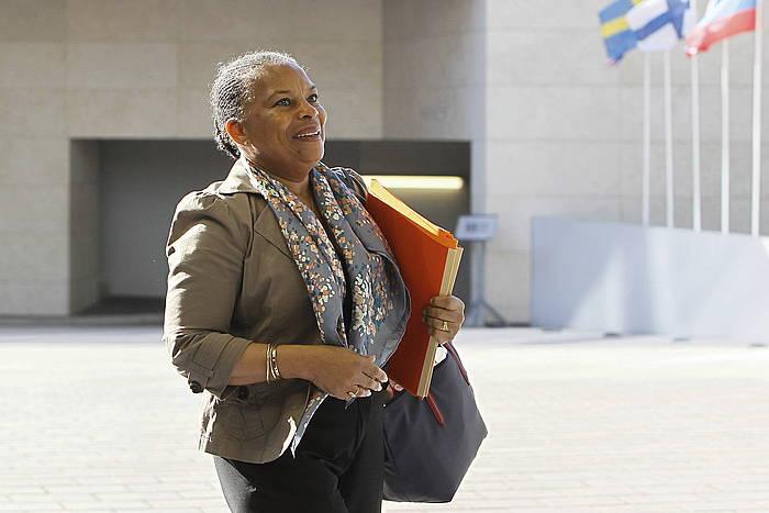 Christiane Taubira Frantziako Justizia ministroa. / ©MATHIEU CUGNOT, EFE