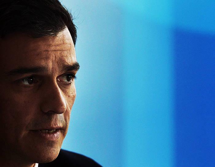 Pedro Sanchez PSOEko idazkari nagusiaren adierazpen batzuek eragin dute Kontzertu ekonomikoari eta Itun ekonomikoari buruzko erreakzio sorta. ©ESTEBAN COBO / EFE