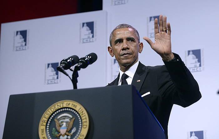 Barack Obama AEBetako presidenteak iragan astean erabaki zuen matxinoekiko estrategia aldatzea./ ©OLIVER DOULIERY / EFE