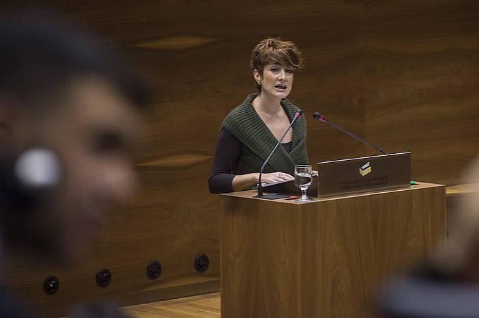 EH Bilduk proposatu zuen eztabaida, eta Bakartxo Ruizek ekin dio osoko bilkurari. ©Jagoba Manterola / Argazki Press