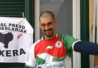 Karlos Garcia Preciado preso ohia. ©/ BERRIA