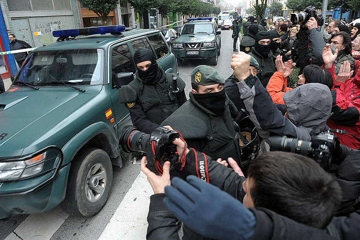 2011n atxilotu zuen Guardia Zibilak Xabier Beortegi. ©Iñigo Uriz / Argazki Press