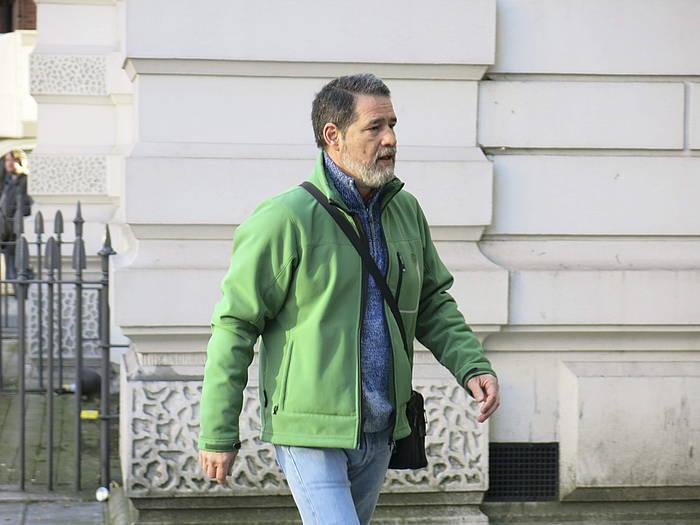 Antton Troitiño, Londresen, artxiboko irudi batean. ©Rebeca Ruiz / EFE