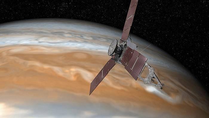 'Juno' espazio zunda da Jupiterrera gehien gerturatu den ontzia.