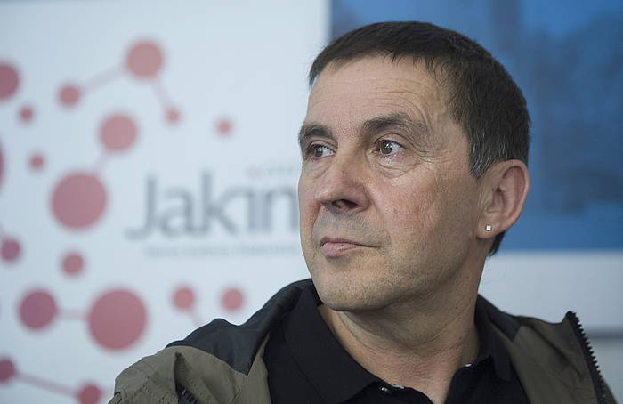Arnaldo Otegi, Jakin aldizkariak eta EHUko Udako Ikastaroek antolatutako saioan. ©Jon Urbe / Argazki Press
