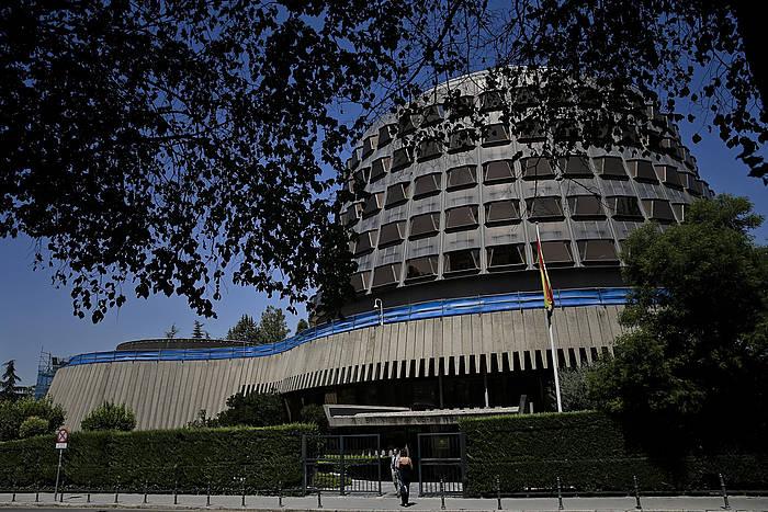 Espainiako Auzitegi Konstituzionalaren egoitza. ©Emilio Naranjo / EFE