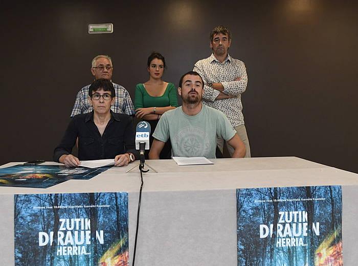 Otaegi oroitzeko ekitaldia egingo dute urriaren 1ean. ©Gorka Rubio / Argazki Press