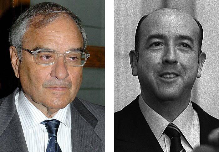 Rodolfo Martin Villa eta Jose Utrera Molina.