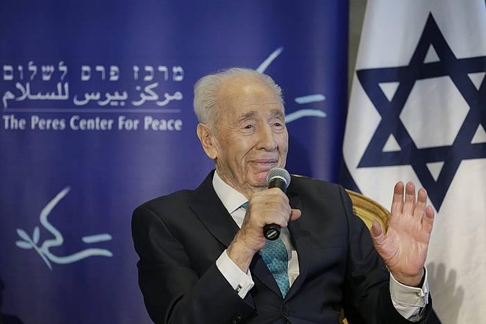 Goizaldean hil da Shimon Peres, 93 urterekin. ©Jim Hollander / EFE