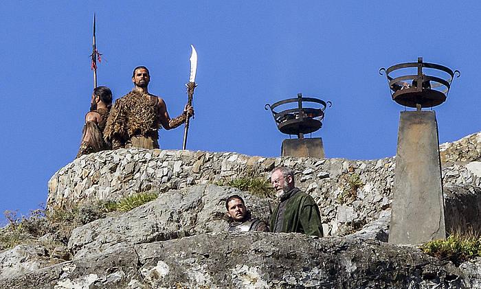 'Game of thrones', Gaztelugatxen ©Iñaki Andres / Efe