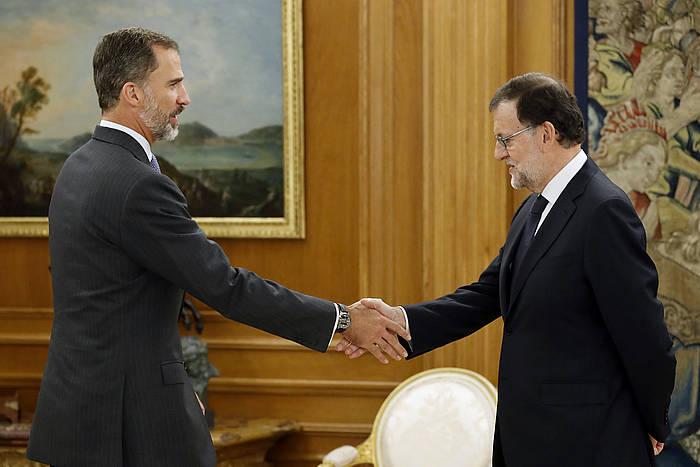 Felipe Borboikoa eta Mariano Rajoy. ©Chema Moya / EFE