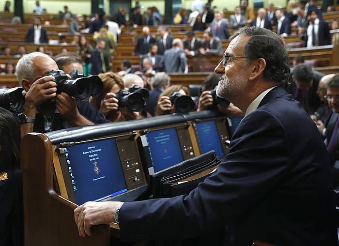 Mariano Rajoy, inbestidura saioan. ©Chema Moya / EFE