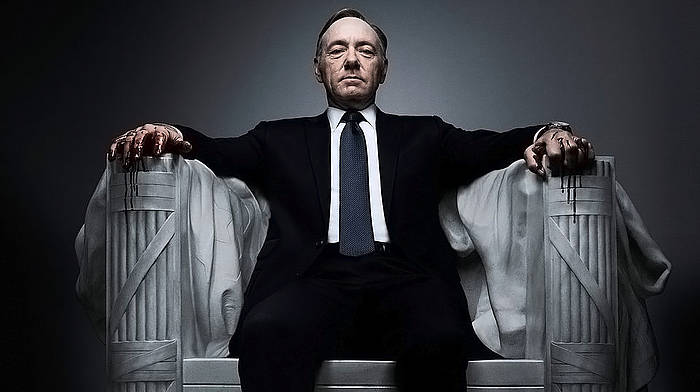 Kevin Spacey, 'House of cards' telesaileko protagonista. ©Berria