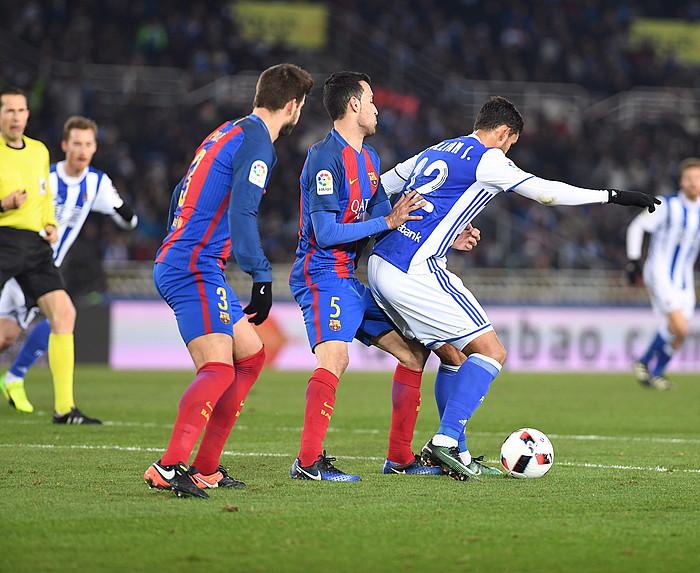 Hamar urteren ondoren, Bartzelonak Anoetan irabazi du  (0-1)