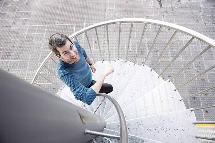 Arkaitz Rodriguez Sortuko Ekintza Politikoko idazkaria, Donostian, BERRIAko elkarrizketan. ©Juan Carlos Ruiz, Argazki Press