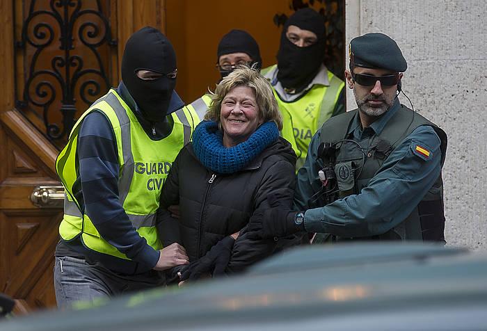 2014ean eraman zuen atxilotuta Guardia Zibilak. / ©Luis Jauregialtzo, Argazki Press