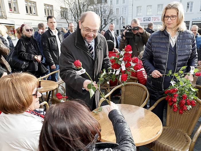 ©Martin Schulz Sarreko hauteskune kanpainan. / Ronald Wittek, Efe