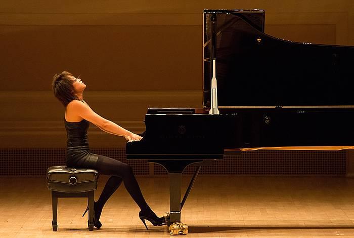 Yua Wang pianista txinatarra