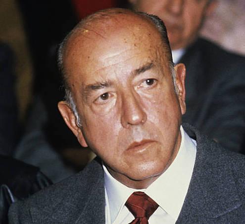Diktadura garaian ministo izan zen Utrera Molina. / ©EFE