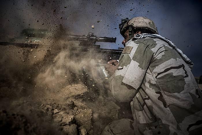 Mosul mendebaldeko borroka