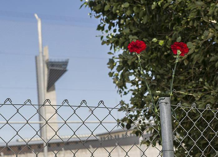 Puertoko espetxea, larunbatean Kalera Kalera ekimenak egin zuen martxan. / ©Marisol Ramirez, Argazki Press