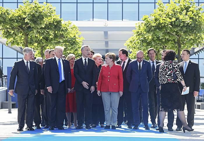 Trump, gaur, Bruselan. / ©OLIVIER HOSLET, Efe